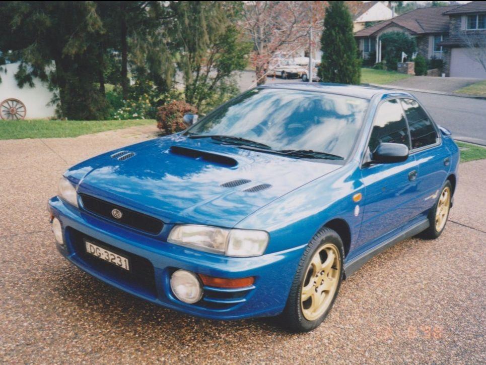 1998 Subaru IMPREZA WRX CLUB SPEC EVO 2