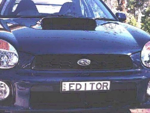 2001 Subaru IMPREZA WRX (AWD)