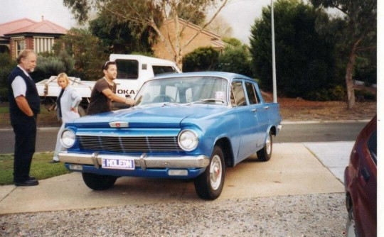 "1962 ""BABY-J"" EJ Holden special"