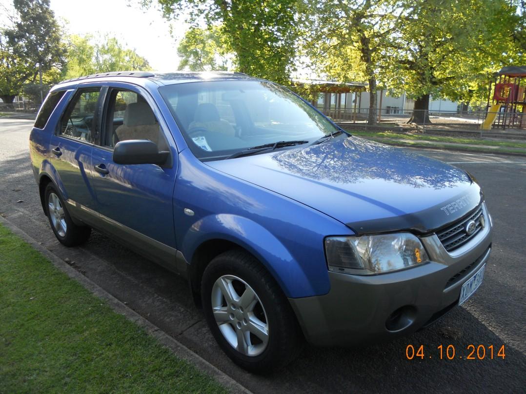 2004 Ford TERRITORY TS