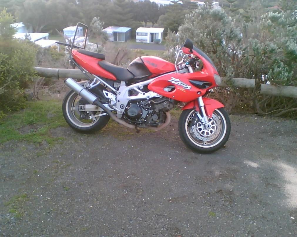 1997 Suzuki tl1000s