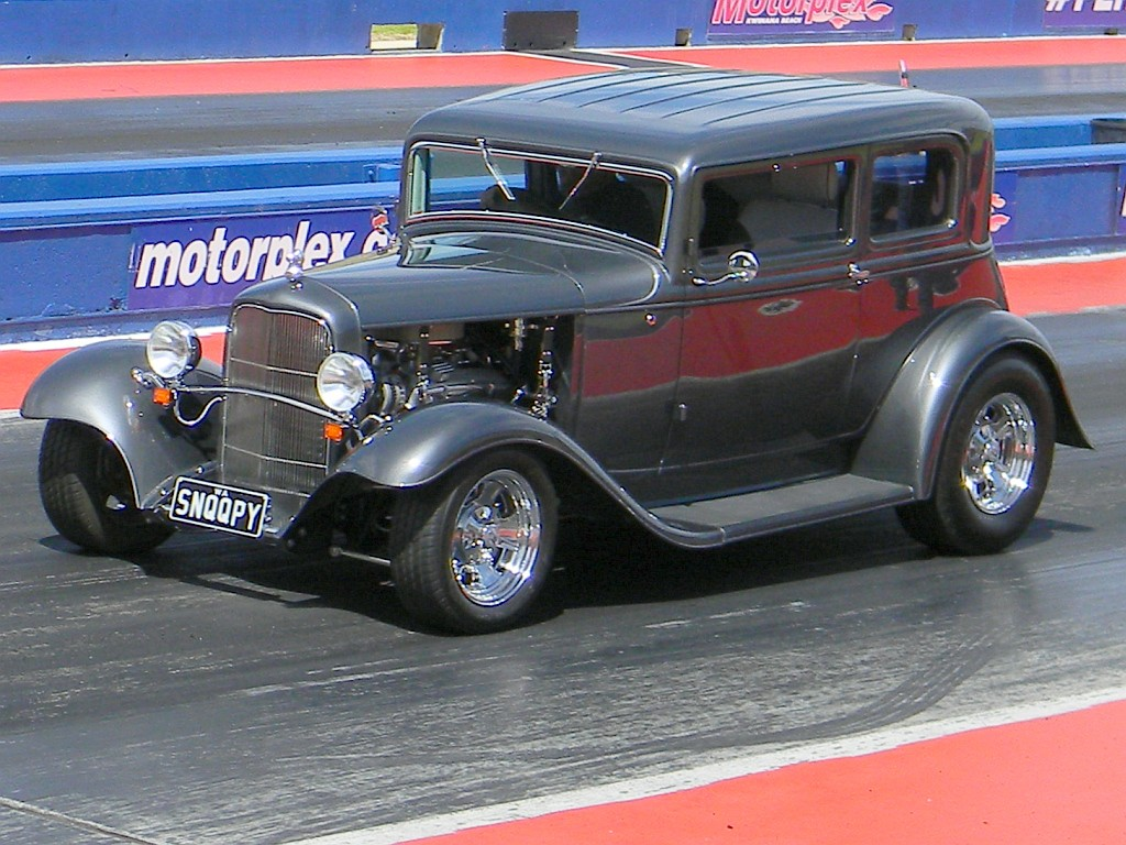 1931 hot rod ford victoria