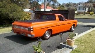 1971 Ford falcon xy gs