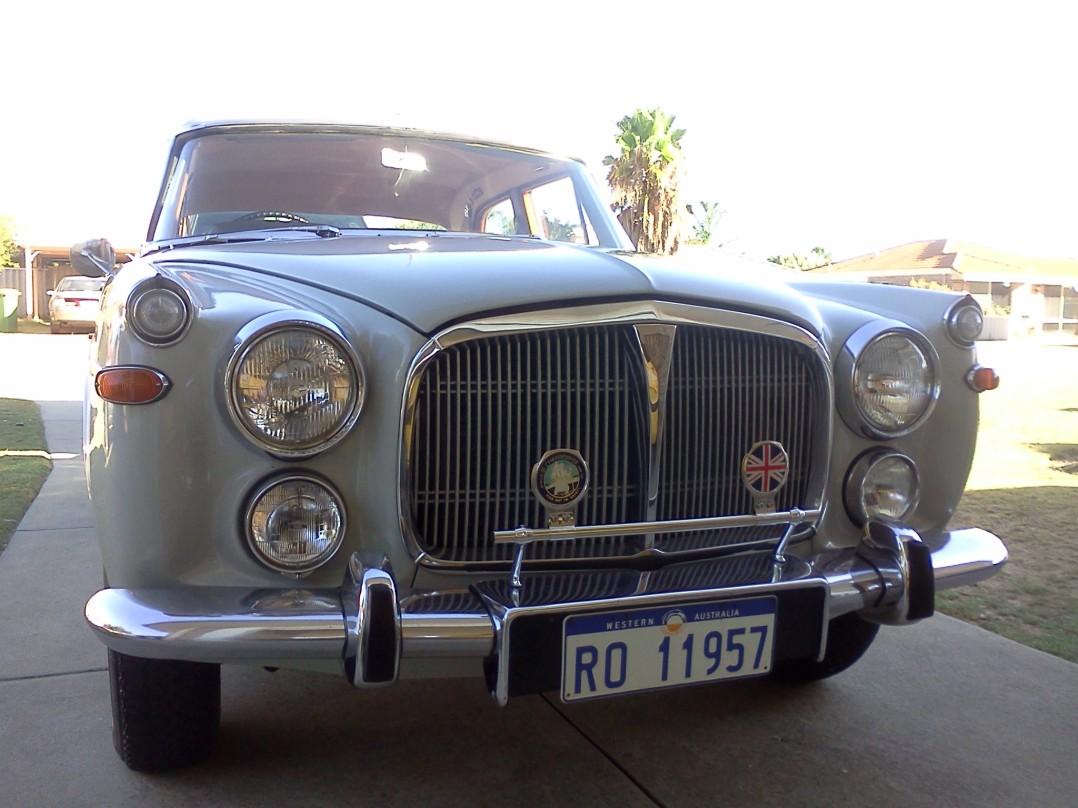 1968 Rover P5b