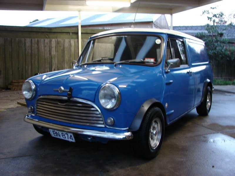 1970 Morris Mini K Van