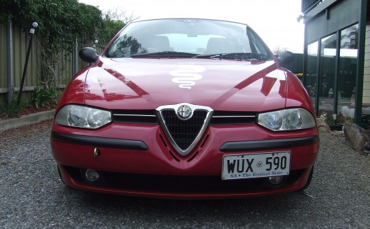 1999 Alfa Romeo 156 TS Manual