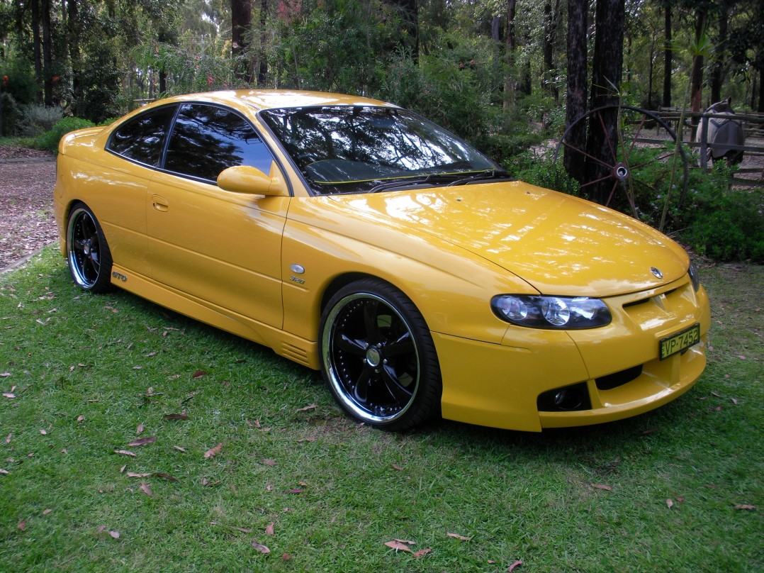 2002 Holden Special Vehicles gto