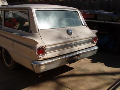 1963 Ford Fairlane Ranch Wagon - BGBLOK - Shannons Club