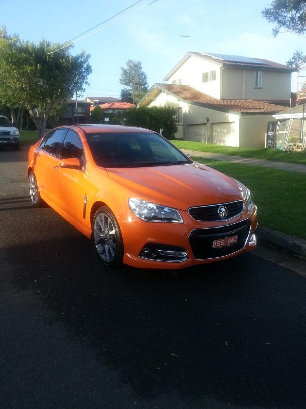 2013 Holden SSV