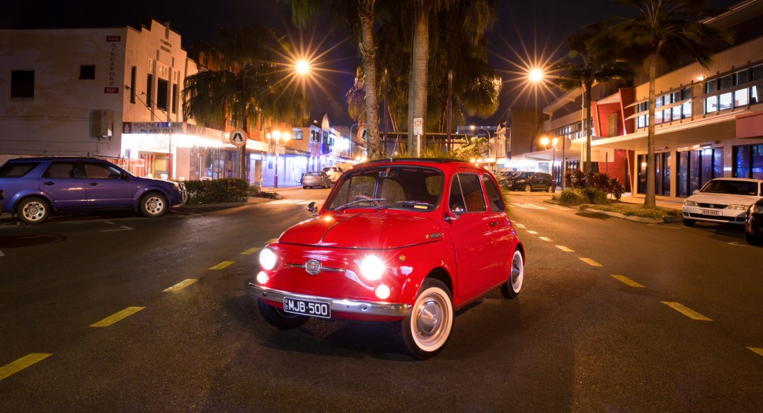 1970 Fiat 500F