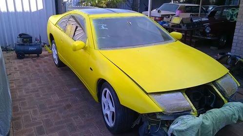 1990 Nissan 300zx TT Targa