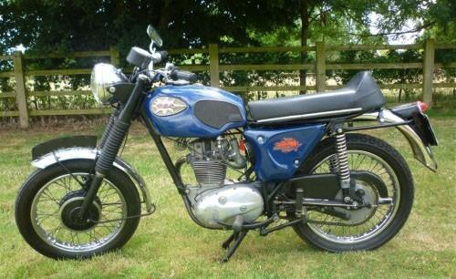 1966 BSA B25 Starfire