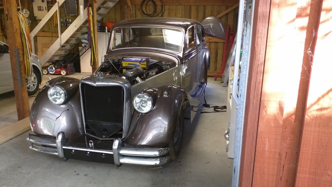 1950 Jaguar MkV