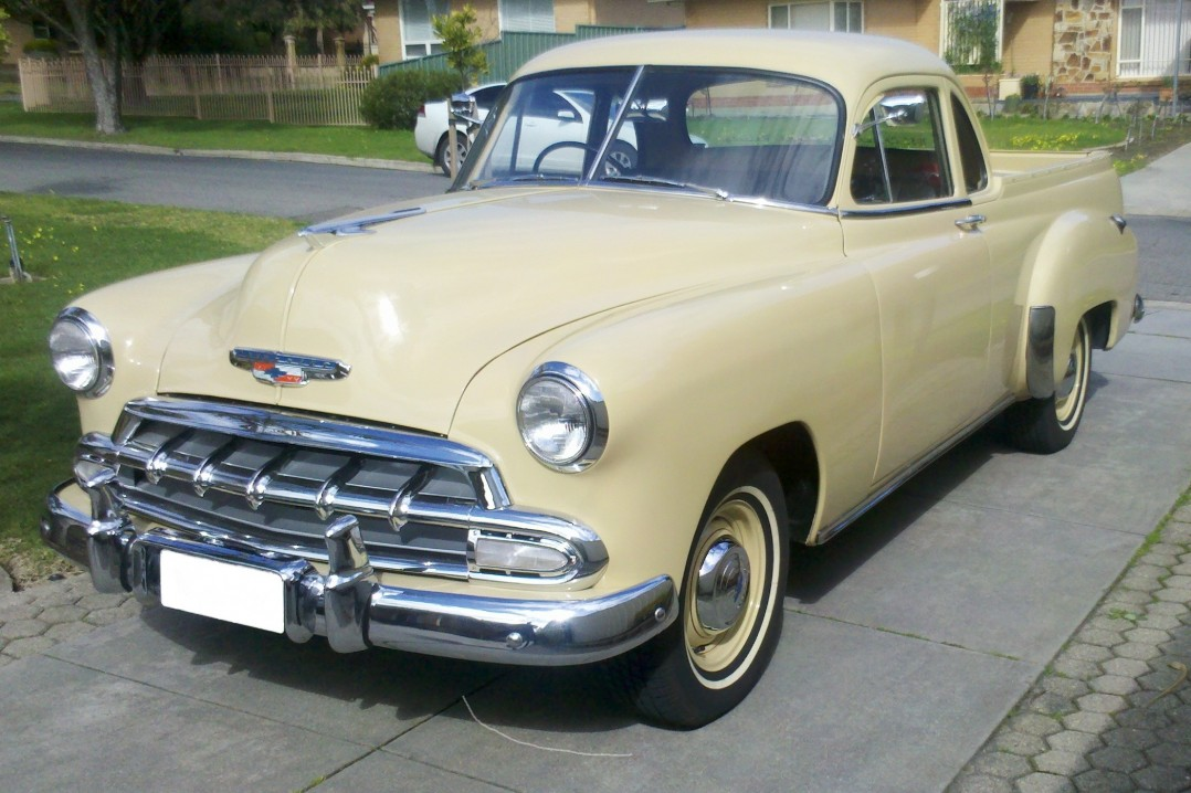 1952 Chevrolet Coupe Utility