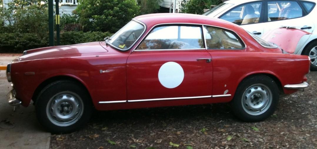 1963 Alfa Romeo Giulia Sprint 101 series