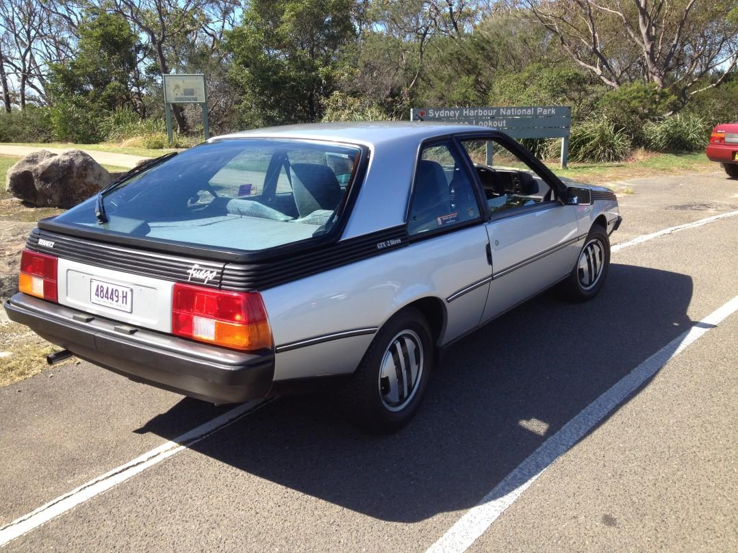 1984 Renault FUEGO GTX