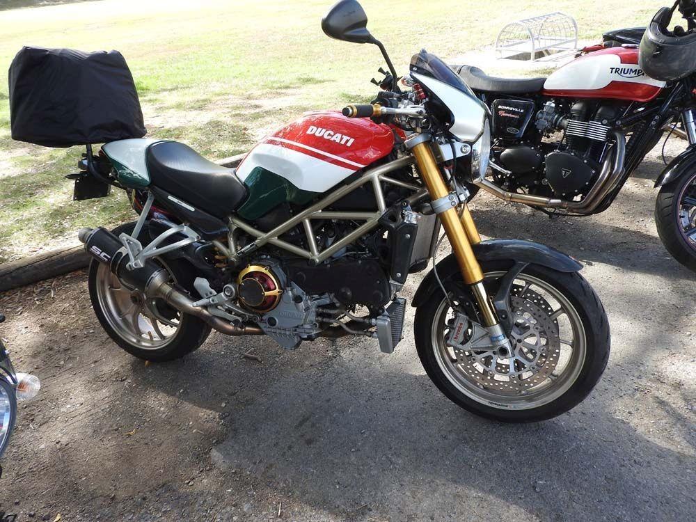 2008 Ducati 998cc MONSTER S4RS TRICOLORE