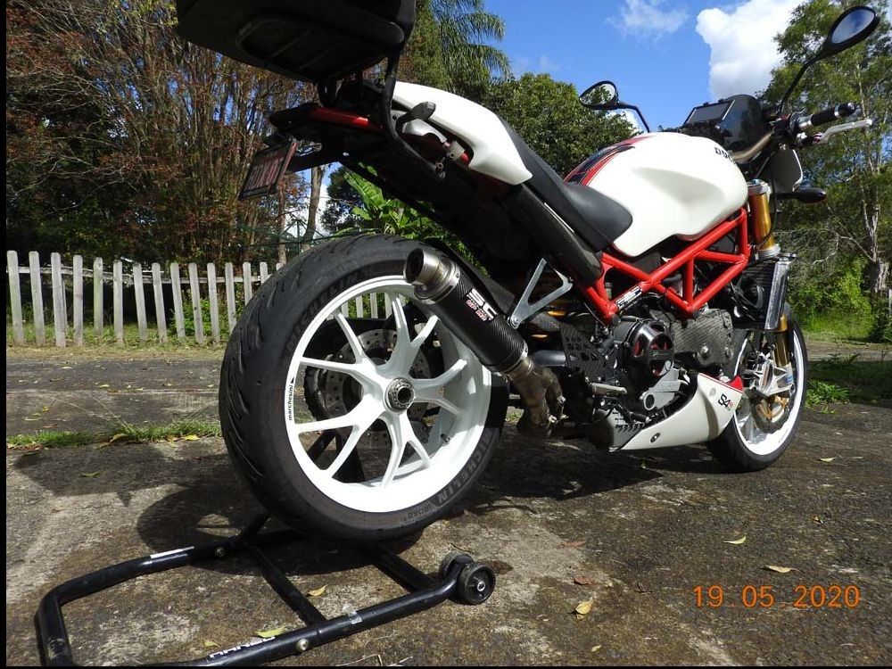 2007 Ducati 998cc MONSTER S4RS TRICOLORE