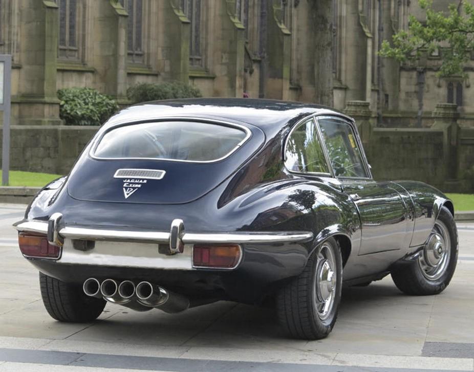 1972 Jaguar E-TYPE Series III V12 2+2