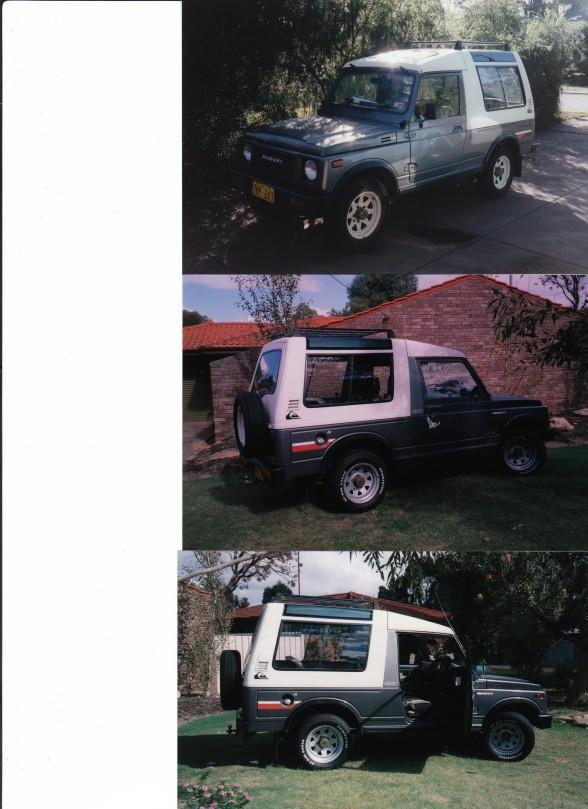 1989 Suzuki SIERRA DELUXE LWB (4x4)