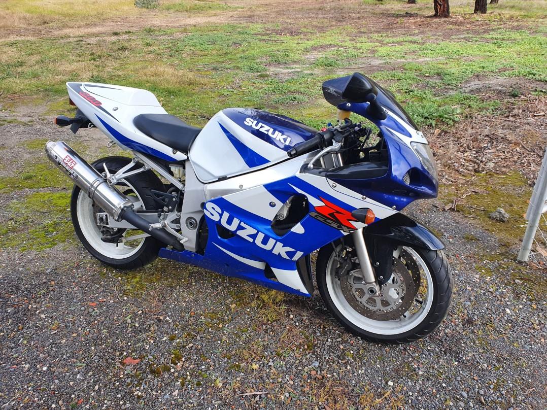 2001 Suzuki 599cc GSX-R600