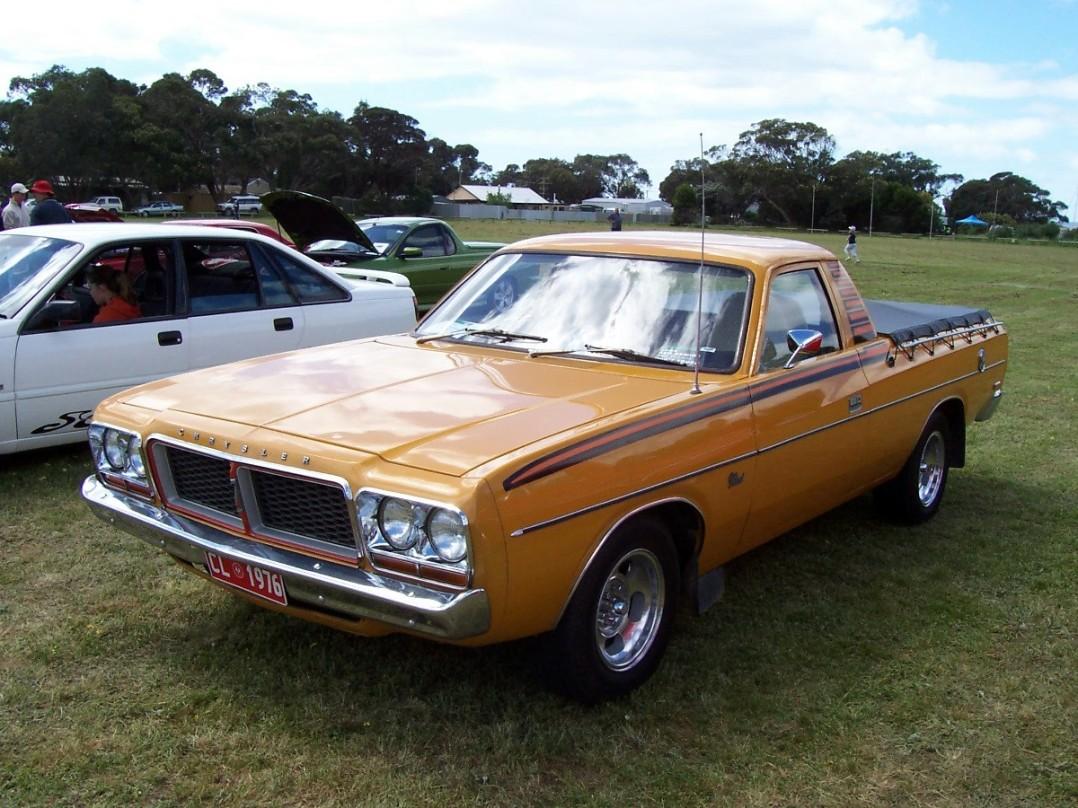 1976 Chrysler Valiant CL Sportspack Utility