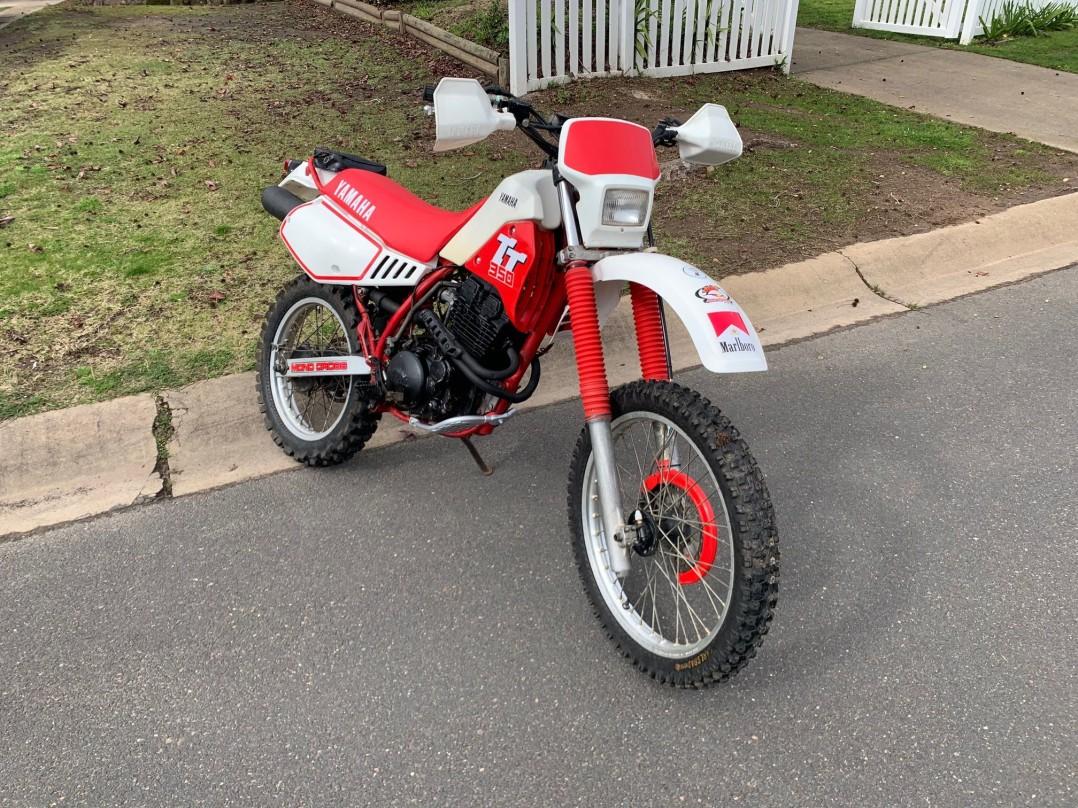 1985 Yamaha 346cc TT350