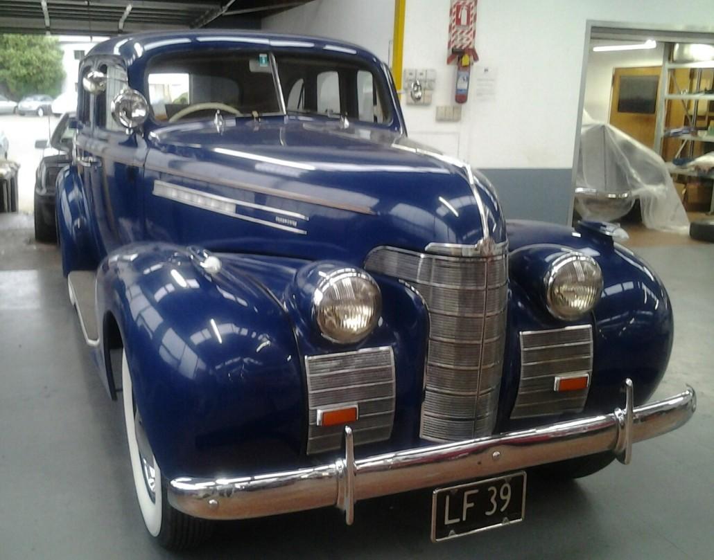 1939 Oldsmobile Series 60 F39