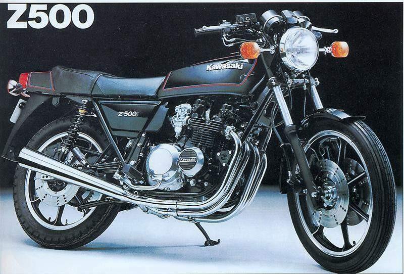 1983 Kawasaki 497cc Z500
