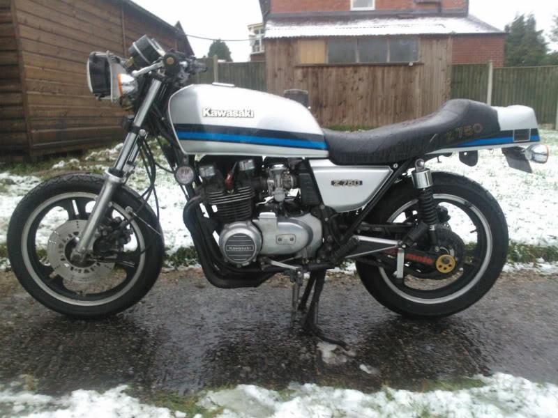 1981 Kawasaki 738cc Z750 L1