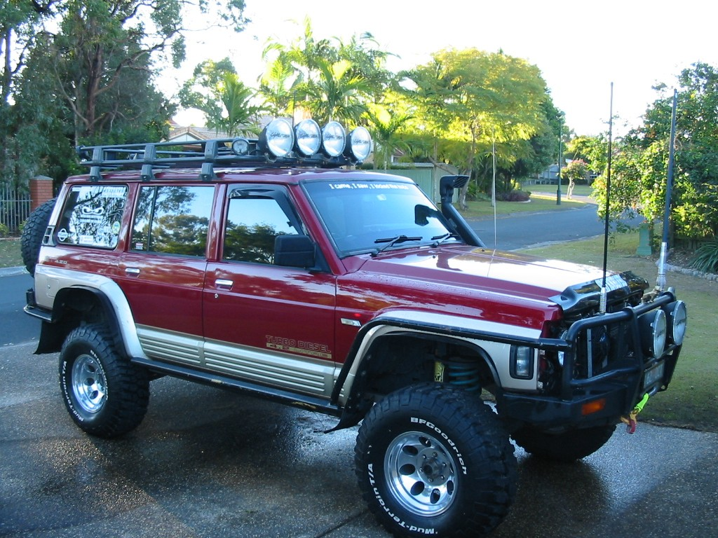 1995 Nissan GQ Patrol ST LWB