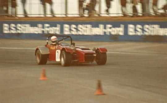1972 ASP 320A Clubman