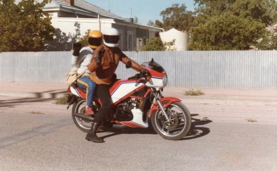 1984 Yamaha 247cc RZ250