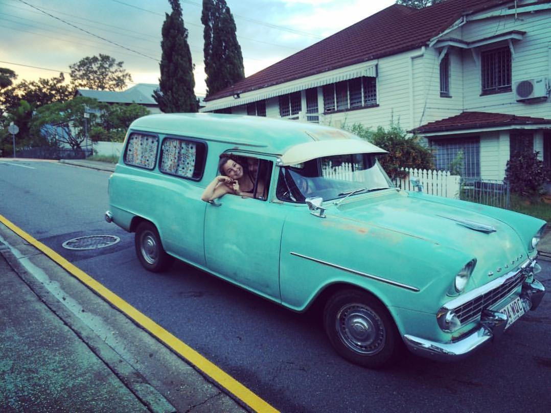 1952 Holden EK Panel Van