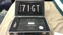 71GT victorian signature number plates
