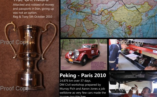 2010 Peking to Paris :  Driving the Impossible