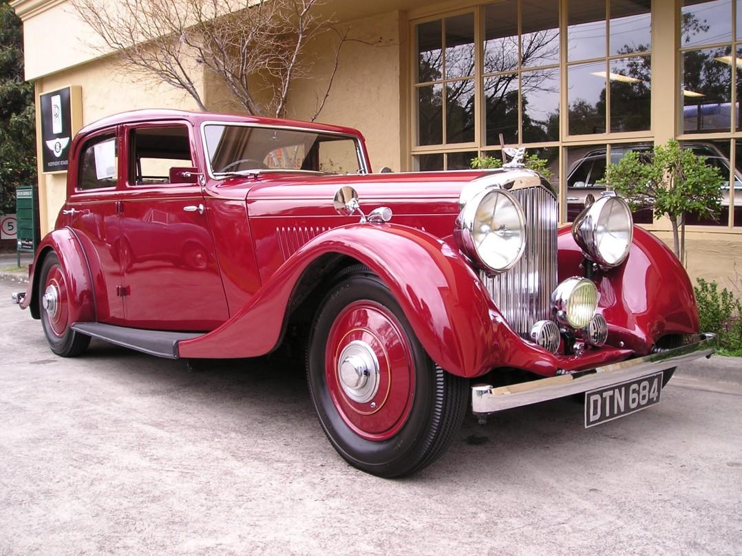 1935 Bentley Derby Parkward Saloon