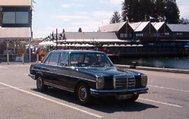 1972 Mercedes-Benz W114  280E