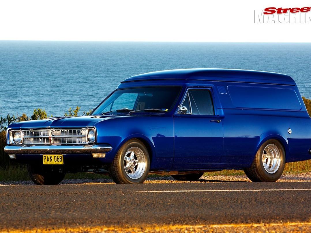 1968 Holden HK Van