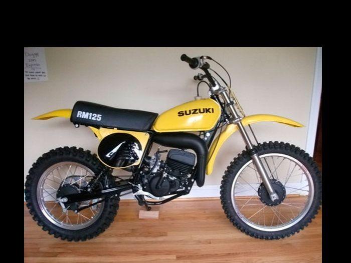1976 Suzuki 125cc RM125