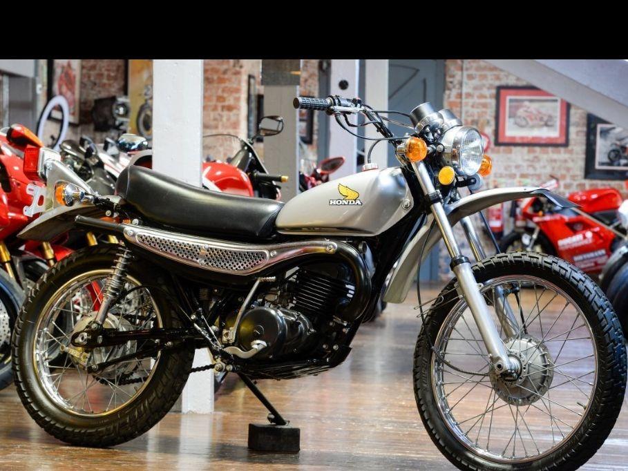 1974 Honda MT250 2 stroke