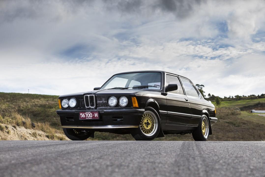 1981 BMW 323i JPS Edition E21