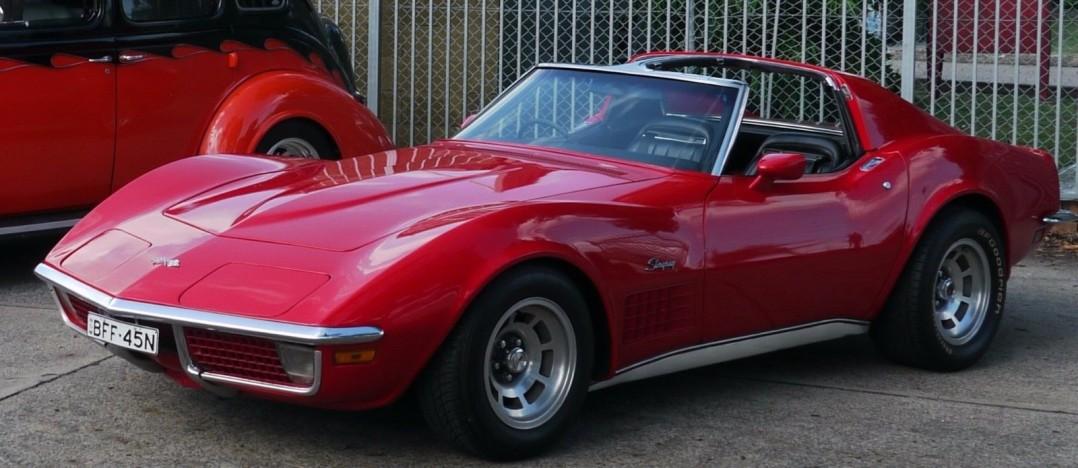 1970 corvette t top coupe