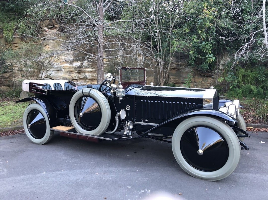 1913 Rolls-Royce Silver Ghost London to Edinburgh