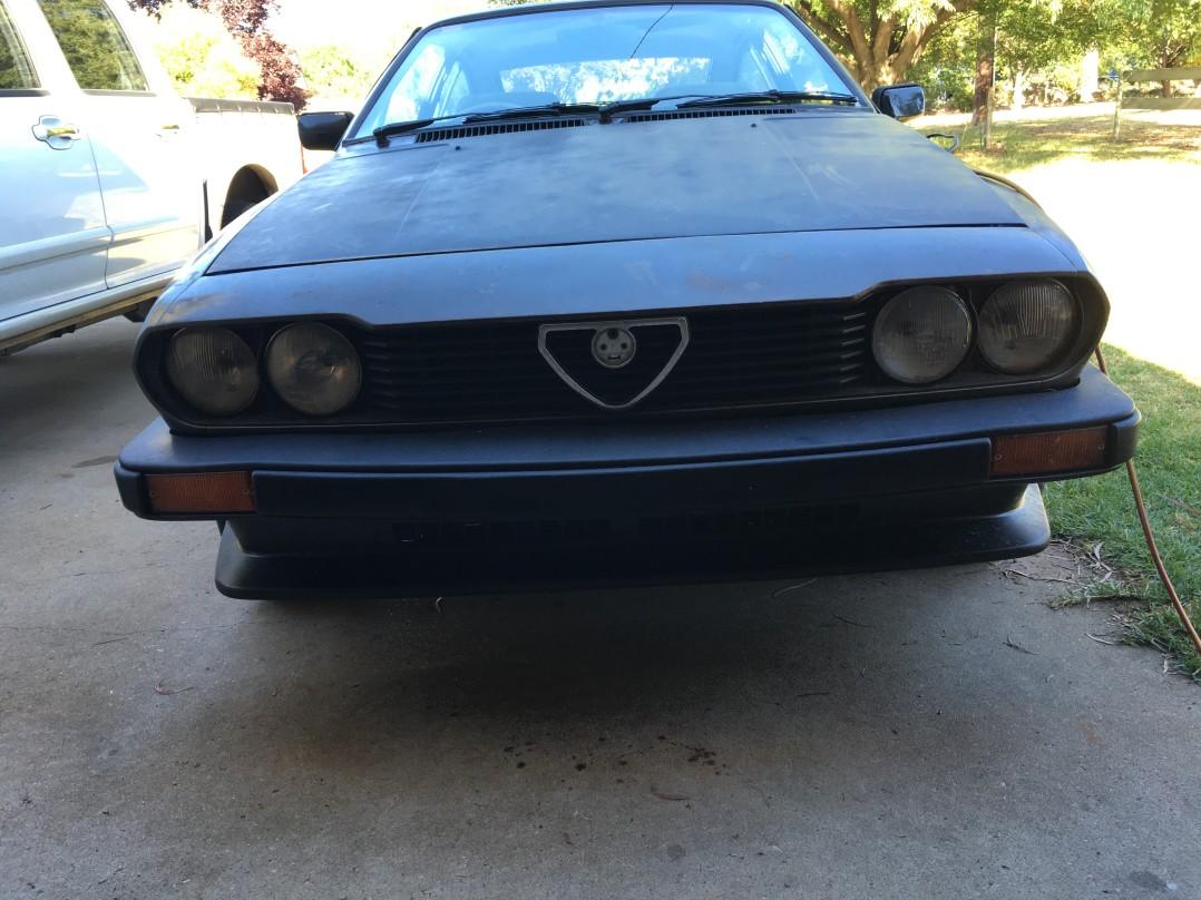 1981 Alfa Romeo ALFETTA 2.0L