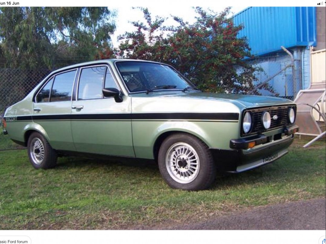 1978 Ford Escort rally pack