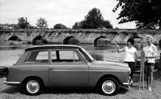 What if…the Austin A40 Farina had 4 doors?