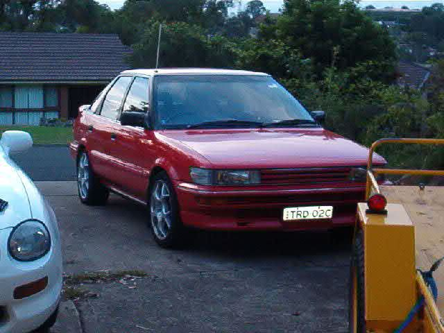 1990 Toyota Corolla SX