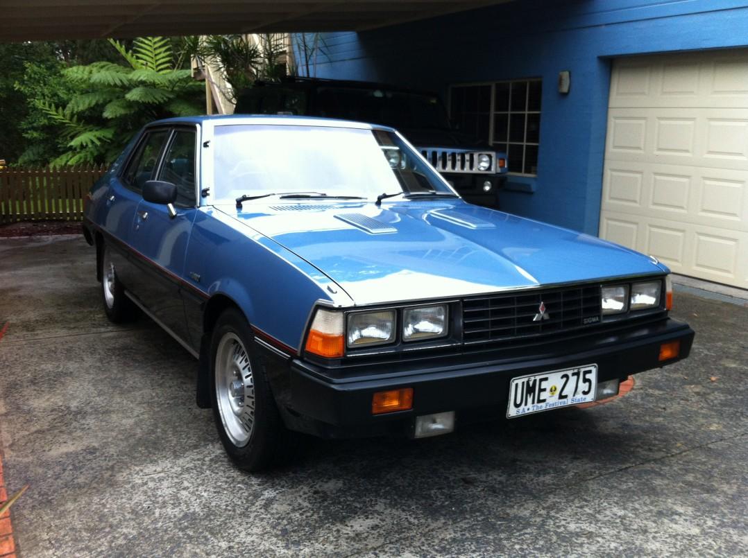 1981 Mitsubishi Factory GH Sigma Turbo
