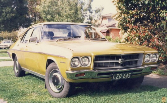 1974 Holden Premier HQ series